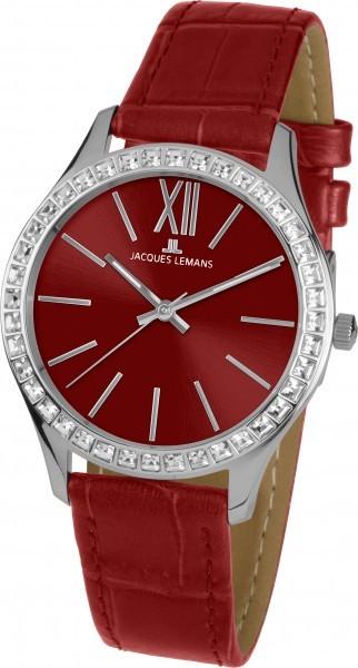 Jacques Lemans 1-1841U - женские наручные часы из коллекции RomeJacques Lemans<br><br><br>Бренд: Jacques Lemans<br>Модель: Jacques Lemans 1-1841U<br>Артикул: 1-1841U<br>Вариант артикула: None<br>Коллекция: Rome<br>Подколлекция: None<br>Страна: Австрия<br>Пол: женские<br>Тип механизма: кварцевые<br>Механизм: None<br>Количество камней: None<br>Автоподзавод: None<br>Источник энергии: от батарейки<br>Срок службы элемента питания: None<br>Дисплей: стрелки<br>Цифры: римские<br>Водозащита: WR 10<br>Противоударные: None<br>Материал корпуса: нерж. сталь<br>Материал браслета: кожа<br>Материал безеля: None<br>Стекло: Crystex<br>Антибликовое покрытие: None<br>Цвет корпуса: None<br>Цвет браслета: None<br>Цвет циферблата: None<br>Цвет безеля: None<br>Размеры: 37 мм<br>Диаметр: None<br>Диаметр корпуса: None<br>Толщина: None<br>Ширина ремешка: None<br>Вес: None<br>Спорт-функции: None<br>Подсветка: стрелок<br>Вставка: кристаллы Swarovski<br>Отображение даты: None<br>Хронограф: None<br>Таймер: None<br>Термометр: None<br>Хронометр: None<br>GPS: None<br>Радиосинхронизация: None<br>Барометр: None<br>Скелетон: None<br>Дополнительная информация: None<br>Дополнительные функции: None