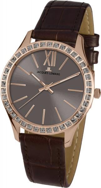 Jacques Lemans 1-1841P - женские наручные часы из коллекции RomeJacques Lemans<br><br><br>Бренд: Jacques Lemans<br>Модель: Jacques Lemans 1-1841P<br>Артикул: 1-1841P<br>Вариант артикула: None<br>Коллекция: Rome<br>Подколлекция: None<br>Страна: Австрия<br>Пол: женские<br>Тип механизма: кварцевые<br>Механизм: None<br>Количество камней: None<br>Автоподзавод: None<br>Источник энергии: от батарейки<br>Срок службы элемента питания: None<br>Дисплей: стрелки<br>Цифры: римские<br>Водозащита: WR 10<br>Противоударные: None<br>Материал корпуса: нерж. сталь, IP покрытие (полное)<br>Материал браслета: кожа<br>Материал безеля: None<br>Стекло: Crystex<br>Антибликовое покрытие: None<br>Цвет корпуса: None<br>Цвет браслета: None<br>Цвет циферблата: None<br>Цвет безеля: None<br>Размеры: 37 мм<br>Диаметр: None<br>Диаметр корпуса: None<br>Толщина: None<br>Ширина ремешка: None<br>Вес: None<br>Спорт-функции: None<br>Подсветка: None<br>Вставка: кристаллы Swarovski<br>Отображение даты: None<br>Хронограф: None<br>Таймер: None<br>Термометр: None<br>Хронометр: None<br>GPS: None<br>Радиосинхронизация: None<br>Барометр: None<br>Скелетон: None<br>Дополнительная информация: None<br>Дополнительные функции: None