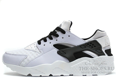 Кроссовки Мужские Nike Air Huarache White Black