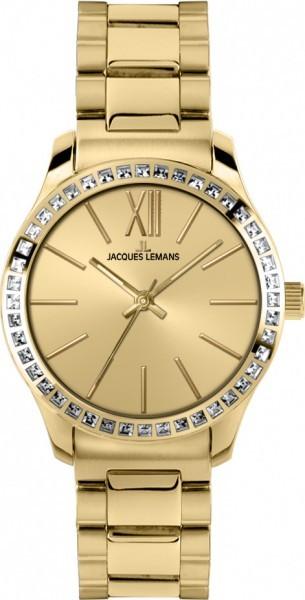Jacques Lemans 1-1841G - женские наручные часы из коллекции RomeJacques Lemans<br><br><br>Бренд: Jacques Lemans<br>Модель: Jacques Lemans 1-1841G<br>Артикул: 1-1841G<br>Вариант артикула: None<br>Коллекция: Rome<br>Подколлекция: None<br>Страна: Австрия<br>Пол: женские<br>Тип механизма: кварцевые<br>Механизм: None<br>Количество камней: None<br>Автоподзавод: None<br>Источник энергии: от батарейки<br>Срок службы элемента питания: None<br>Дисплей: стрелки<br>Цифры: римские<br>Водозащита: WR 10<br>Противоударные: None<br>Материал корпуса: нерж. сталь, IP покрытие (полное)<br>Материал браслета: нерж. сталь, IP покрытие (полное)<br>Материал безеля: None<br>Стекло: Crystex<br>Антибликовое покрытие: None<br>Цвет корпуса: None<br>Цвет браслета: None<br>Цвет циферблата: None<br>Цвет безеля: None<br>Размеры: 37 мм<br>Диаметр: None<br>Диаметр корпуса: None<br>Толщина: None<br>Ширина ремешка: None<br>Вес: None<br>Спорт-функции: None<br>Подсветка: None<br>Вставка: кристаллы Swarovski<br>Отображение даты: None<br>Хронограф: None<br>Таймер: None<br>Термометр: None<br>Хронометр: None<br>GPS: None<br>Радиосинхронизация: None<br>Барометр: None<br>Скелетон: None<br>Дополнительная информация: None<br>Дополнительные функции: None