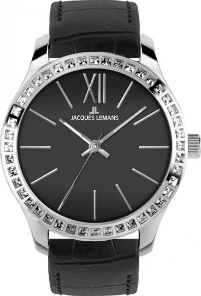 Jacques Lemans 1-1841A - женские наручные часы из коллекции RomeJacques Lemans<br><br><br>Бренд: Jacques Lemans<br>Модель: Jacques Lemans 1-1841A<br>Артикул: 1-1841A<br>Вариант артикула: None<br>Коллекция: Rome<br>Подколлекция: None<br>Страна: Австрия<br>Пол: женские<br>Тип механизма: кварцевые<br>Механизм: None<br>Количество камней: None<br>Автоподзавод: None<br>Источник энергии: от батарейки<br>Срок службы элемента питания: None<br>Дисплей: стрелки<br>Цифры: римские<br>Водозащита: WR 10<br>Противоударные: None<br>Материал корпуса: нерж. сталь<br>Материал браслета: кожа<br>Материал безеля: None<br>Стекло: Crystex<br>Антибликовое покрытие: None<br>Цвет корпуса: None<br>Цвет браслета: None<br>Цвет циферблата: None<br>Цвет безеля: None<br>Размеры: 37 мм<br>Диаметр: None<br>Диаметр корпуса: None<br>Толщина: None<br>Ширина ремешка: None<br>Вес: None<br>Спорт-функции: None<br>Подсветка: None<br>Вставка: кристаллы Swarovski<br>Отображение даты: None<br>Хронограф: None<br>Таймер: None<br>Термометр: None<br>Хронометр: None<br>GPS: None<br>Радиосинхронизация: None<br>Барометр: None<br>Скелетон: None<br>Дополнительная информация: None<br>Дополнительные функции: None