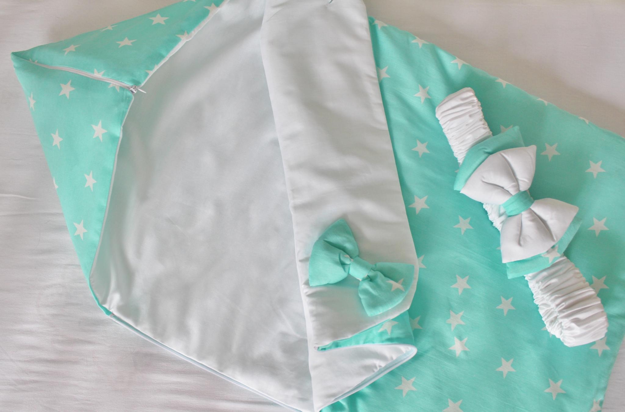 Как самим сшить конверт для новорожденного