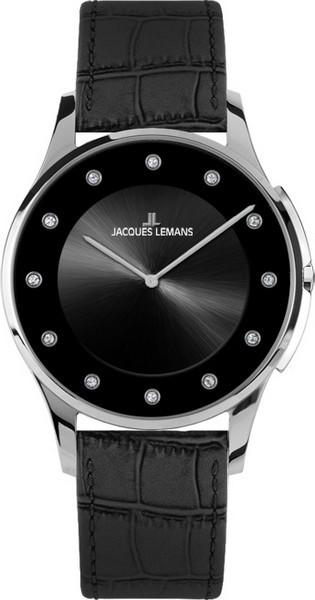 Jacques Lemans 1-1778B - женские наручные часы из коллекции LondonJacques Lemans<br><br><br>Бренд: Jacques Lemans<br>Модель: Jacques Lemans 1-1778B<br>Артикул: 1-1778B<br>Вариант артикула: None<br>Коллекция: London<br>Подколлекция: None<br>Страна: Австрия<br>Пол: женские<br>Тип механизма: кварцевые<br>Механизм: None<br>Количество камней: None<br>Автоподзавод: None<br>Источник энергии: от батарейки<br>Срок службы элемента питания: None<br>Дисплей: стрелки<br>Цифры: отсутствуют<br>Водозащита: WR 5<br>Противоударные: None<br>Материал корпуса: нерж. сталь<br>Материал браслета: кожа<br>Материал безеля: None<br>Стекло: Crystex<br>Антибликовое покрытие: None<br>Цвет корпуса: None<br>Цвет браслета: None<br>Цвет циферблата: None<br>Цвет безеля: None<br>Размеры: 28 мм<br>Диаметр: None<br>Диаметр корпуса: None<br>Толщина: None<br>Ширина ремешка: None<br>Вес: None<br>Спорт-функции: None<br>Подсветка: None<br>Вставка: None<br>Отображение даты: None<br>Хронограф: None<br>Таймер: None<br>Термометр: None<br>Хронометр: None<br>GPS: None<br>Радиосинхронизация: None<br>Барометр: None<br>Скелетон: None<br>Дополнительная информация: None<br>Дополнительные функции: None