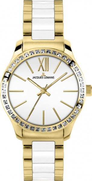 Jacques Lemans 1-1797C - женские наручные часы из коллекции RomeJacques Lemans<br><br><br>Бренд: Jacques Lemans<br>Модель: Jacques Lemans 1-1797C<br>Артикул: 1-1797C<br>Вариант артикула: None<br>Коллекция: Rome<br>Подколлекция: None<br>Страна: Австрия<br>Пол: женские<br>Тип механизма: кварцевые<br>Механизм: None<br>Количество камней: None<br>Автоподзавод: None<br>Источник энергии: от батарейки<br>Срок службы элемента питания: None<br>Дисплей: стрелки<br>Цифры: римские<br>Водозащита: WR 10<br>Противоударные: None<br>Материал корпуса: нерж. сталь, IP покрытие (полное)<br>Материал браслета: нерж. сталь + керамика, IP покрытие (частичное)<br>Материал безеля: None<br>Стекло: Crystex<br>Антибликовое покрытие: None<br>Цвет корпуса: None<br>Цвет браслета: None<br>Цвет циферблата: None<br>Цвет безеля: None<br>Размеры: 37 мм<br>Диаметр: None<br>Диаметр корпуса: None<br>Толщина: None<br>Ширина ремешка: None<br>Вес: None<br>Спорт-функции: None<br>Подсветка: стрелок<br>Вставка: кристаллы Swarovski<br>Отображение даты: None<br>Хронограф: None<br>Таймер: None<br>Термометр: None<br>Хронометр: None<br>GPS: None<br>Радиосинхронизация: None<br>Барометр: None<br>Скелетон: None<br>Дополнительная информация: None<br>Дополнительные функции: None