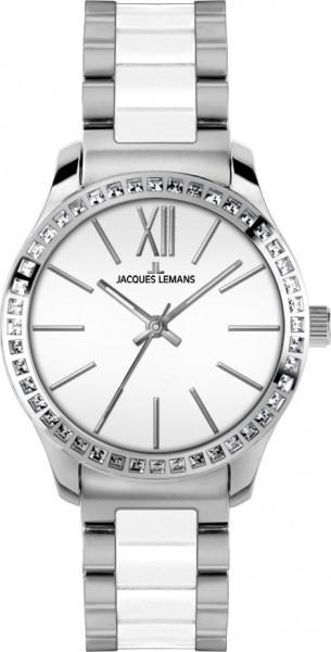 Jacques Lemans 1-1797B - женские наручные часы из коллекции RomeJacques Lemans<br><br><br>Бренд: Jacques Lemans<br>Модель: Jacques Lemans 1-1797B<br>Артикул: 1-1797B<br>Вариант артикула: None<br>Коллекция: Rome<br>Подколлекция: None<br>Страна: Австрия<br>Пол: женские<br>Тип механизма: кварцевые<br>Механизм: None<br>Количество камней: None<br>Автоподзавод: None<br>Источник энергии: от батарейки<br>Срок службы элемента питания: None<br>Дисплей: стрелки<br>Цифры: римские<br>Водозащита: WR 10<br>Противоударные: None<br>Материал корпуса: нерж. сталь<br>Материал браслета: нерж. сталь + керамика<br>Материал безеля: None<br>Стекло: Crystex<br>Антибликовое покрытие: None<br>Цвет корпуса: None<br>Цвет браслета: None<br>Цвет циферблата: None<br>Цвет безеля: None<br>Размеры: 37 мм<br>Диаметр: None<br>Диаметр корпуса: None<br>Толщина: None<br>Ширина ремешка: None<br>Вес: None<br>Спорт-функции: None<br>Подсветка: стрелок<br>Вставка: кристаллы Swarovski<br>Отображение даты: None<br>Хронограф: None<br>Таймер: None<br>Термометр: None<br>Хронометр: None<br>GPS: None<br>Радиосинхронизация: None<br>Барометр: None<br>Скелетон: None<br>Дополнительная информация: None<br>Дополнительные функции: None