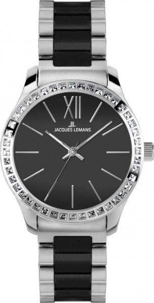 Jacques Lemans 1-1797A - женские наручные часы из коллекции RomeJacques Lemans<br><br><br>Бренд: Jacques Lemans<br>Модель: Jacques Lemans 1-1797A<br>Артикул: 1-1797A<br>Вариант артикула: None<br>Коллекция: Rome<br>Подколлекция: None<br>Страна: Австрия<br>Пол: женские<br>Тип механизма: кварцевые<br>Механизм: None<br>Количество камней: None<br>Автоподзавод: None<br>Источник энергии: от батарейки<br>Срок службы элемента питания: None<br>Дисплей: стрелки<br>Цифры: римские<br>Водозащита: WR 10<br>Противоударные: None<br>Материал корпуса: нерж. сталь<br>Материал браслета: нерж. сталь + керамика<br>Материал безеля: None<br>Стекло: Crystex<br>Антибликовое покрытие: None<br>Цвет корпуса: None<br>Цвет браслета: None<br>Цвет циферблата: None<br>Цвет безеля: None<br>Размеры: 37 мм<br>Диаметр: None<br>Диаметр корпуса: None<br>Толщина: None<br>Ширина ремешка: None<br>Вес: None<br>Спорт-функции: None<br>Подсветка: стрелок<br>Вставка: кристаллы Swarovski<br>Отображение даты: None<br>Хронограф: None<br>Таймер: None<br>Термометр: None<br>Хронометр: None<br>GPS: None<br>Радиосинхронизация: None<br>Барометр: None<br>Скелетон: None<br>Дополнительная информация: None<br>Дополнительные функции: None