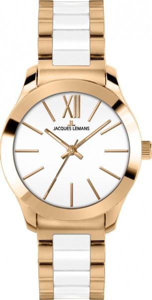 Jacques Lemans 1-1796D - женские наручные часы из коллекции RomeJacques Lemans<br><br><br>Бренд: Jacques Lemans<br>Модель: Jacques Lemans 1-1796D<br>Артикул: 1-1796D<br>Вариант артикула: None<br>Коллекция: Rome<br>Подколлекция: None<br>Страна: Австрия<br>Пол: женские<br>Тип механизма: кварцевые<br>Механизм: None<br>Количество камней: None<br>Автоподзавод: None<br>Источник энергии: от батарейки<br>Срок службы элемента питания: None<br>Дисплей: стрелки<br>Цифры: римские<br>Водозащита: WR 10<br>Противоударные: None<br>Материал корпуса: нерж. сталь, IP покрытие (полное)<br>Материал браслета: нерж. сталь + керамика, IP покрытие (частичное)<br>Материал безеля: None<br>Стекло: Crystex<br>Антибликовое покрытие: None<br>Цвет корпуса: None<br>Цвет браслета: None<br>Цвет циферблата: None<br>Цвет безеля: None<br>Размеры: 37 мм<br>Диаметр: None<br>Диаметр корпуса: None<br>Толщина: None<br>Ширина ремешка: None<br>Вес: None<br>Спорт-функции: None<br>Подсветка: стрелок<br>Вставка: None<br>Отображение даты: None<br>Хронограф: None<br>Таймер: None<br>Термометр: None<br>Хронометр: None<br>GPS: None<br>Радиосинхронизация: None<br>Барометр: None<br>Скелетон: None<br>Дополнительная информация: None<br>Дополнительные функции: None