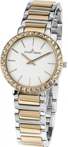 Jacques Lemans 1-1843D - женские наручные часы из коллекции MilanoJacques Lemans<br><br><br>Бренд: Jacques Lemans<br>Модель: Jacques Lemans 1-1843D<br>Артикул: 1-1843D<br>Вариант артикула: None<br>Коллекция: Milano<br>Подколлекция: None<br>Страна: Австрия<br>Пол: женские<br>Тип механизма: кварцевые<br>Механизм: None<br>Количество камней: None<br>Автоподзавод: None<br>Источник энергии: от батарейки<br>Срок службы элемента питания: None<br>Дисплей: стрелки<br>Цифры: отсутствуют<br>Водозащита: WR 5<br>Противоударные: None<br>Материал корпуса: нерж. сталь, IP покрытие (частичное)<br>Материал браслета: нерж. сталь, IP покрытие (частичное)<br>Материал безеля: None<br>Стекло: Crystex<br>Антибликовое покрытие: None<br>Цвет корпуса: None<br>Цвет браслета: None<br>Цвет циферблата: None<br>Цвет безеля: None<br>Размеры: 32x32 мм<br>Диаметр: None<br>Диаметр корпуса: None<br>Толщина: None<br>Ширина ремешка: None<br>Вес: None<br>Спорт-функции: None<br>Подсветка: None<br>Вставка: кристаллы Swarovski<br>Отображение даты: None<br>Хронограф: None<br>Таймер: None<br>Термометр: None<br>Хронометр: None<br>GPS: None<br>Радиосинхронизация: None<br>Барометр: None<br>Скелетон: None<br>Дополнительная информация: None<br>Дополнительные функции: None
