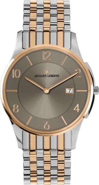 Jacques Lemans 1-1781X - мужские наручные часы из коллекции ClassicJacques Lemans<br><br><br>Бренд: Jacques Lemans<br>Модель: Jacques Lemans 1-1781X<br>Артикул: 1-1781X<br>Вариант артикула: None<br>Коллекция: Classic<br>Подколлекция: None<br>Страна: Австрия<br>Пол: мужские<br>Тип механизма: кварцевые<br>Механизм: None<br>Количество камней: None<br>Автоподзавод: None<br>Источник энергии: от батарейки<br>Срок службы элемента питания: None<br>Дисплей: стрелки<br>Цифры: арабские<br>Водозащита: WR 5<br>Противоударные: None<br>Материал корпуса: нерж. сталь, IP покрытие (частичное)<br>Материал браслета: нерж. сталь, IP покрытие (частичное)<br>Материал безеля: None<br>Стекло: Crystex<br>Антибликовое покрытие: None<br>Цвет корпуса: None<br>Цвет браслета: None<br>Цвет циферблата: None<br>Цвет безеля: None<br>Размеры: 38 мм<br>Диаметр: None<br>Диаметр корпуса: None<br>Толщина: None<br>Ширина ремешка: None<br>Вес: None<br>Спорт-функции: None<br>Подсветка: None<br>Вставка: None<br>Отображение даты: число<br>Хронограф: None<br>Таймер: None<br>Термометр: None<br>Хронометр: None<br>GPS: None<br>Радиосинхронизация: None<br>Барометр: None<br>Скелетон: None<br>Дополнительная информация: None<br>Дополнительные функции: None