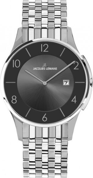 Jacques Lemans 1-1781A - унисекс наручные часы из коллекции LondonJacques Lemans<br><br><br>Бренд: Jacques Lemans<br>Модель: Jacques Lemans 1-1781A<br>Артикул: 1-1781A<br>Вариант артикула: None<br>Коллекция: London<br>Подколлекция: None<br>Страна: Австрия<br>Пол: унисекс<br>Тип механизма: кварцевые<br>Механизм: None<br>Количество камней: None<br>Автоподзавод: None<br>Источник энергии: от батарейки<br>Срок службы элемента питания: None<br>Дисплей: стрелки<br>Цифры: арабские<br>Водозащита: WR 50<br>Противоударные: None<br>Материал корпуса: нерж. сталь<br>Материал браслета: нерж. сталь<br>Материал безеля: None<br>Стекло: минеральное<br>Антибликовое покрытие: None<br>Цвет корпуса: None<br>Цвет браслета: None<br>Цвет циферблата: None<br>Цвет безеля: None<br>Размеры: 38 мм<br>Диаметр: None<br>Диаметр корпуса: None<br>Толщина: None<br>Ширина ремешка: None<br>Вес: None<br>Спорт-функции: None<br>Подсветка: None<br>Вставка: None<br>Отображение даты: число<br>Хронограф: None<br>Таймер: None<br>Термометр: None<br>Хронометр: None<br>GPS: None<br>Радиосинхронизация: None<br>Барометр: None<br>Скелетон: None<br>Дополнительная информация: None<br>Дополнительные функции: None