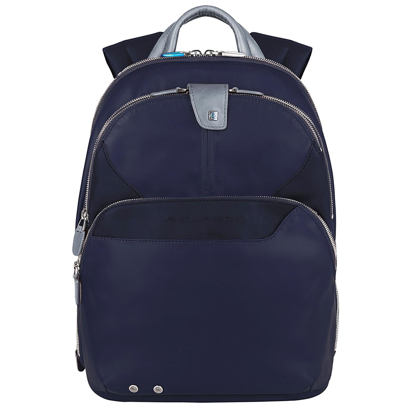 Рюкзак Piquadro Coleos, цвет синий, 27х36х14,5 см (CA2944OS/BLU2)Рюкзаки<br>Видео:Коллекция «COLEOS»от PIQUADRO.Видео: БрендPIQUADRO<br>Рюкзак Piquadro COLEOS (CA2944OS/BLU2) выполнен из качественной телячьей кожи синего цвета. Высокое качество выделки кожи делает этот рюкзак приятным на ощупь и долговечным в использовании. Разработанный дизайнерами компании для современных активных людей, он учитывает все требования нашей динамичной жизни.<br>Одно из трех отделений рюкзака Piquadro COLEOS (CA2944OS/BLU2) предназначено для Ipad / iPad®Air или ноутбука с диагональю 12''. Его внутреннее пространство очень эргономично, что позволит не беспокоится об упорядочивании мелких предметов. Внешний карман имеет выход для подключения наушников извне. Вы можете использовать свой мобильный телефон или плеер, не вынимая их из рюкзака. Рюкзак предусматривает специальное отделение для зонта. Рюкзак Piquadro COLEOS (CA2944OS/BLU2) – стильный аксессуар, удобство которого сложно переоценить.<br><br>Видео: Коллекция «COLEOS» от PIQUADRO<br><br>Видео:БрендPIQUADRO<br>