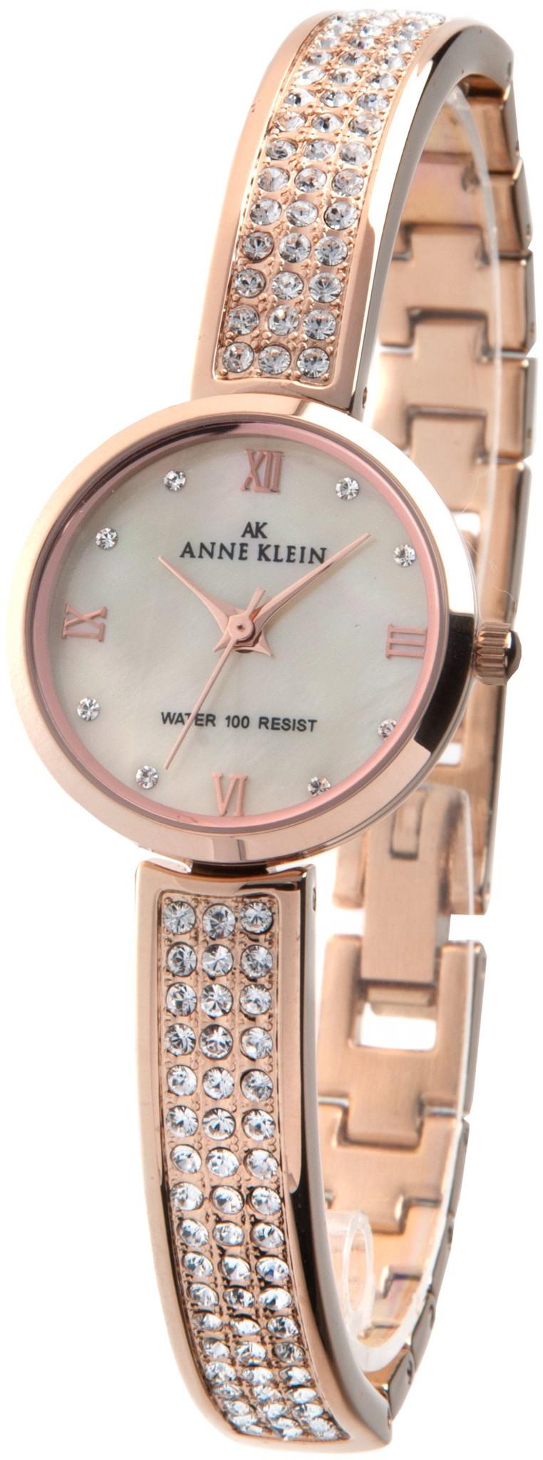 Anne Klein 9786CMRG - женские наручные часы из коллекции CrystalAnne Klein<br><br><br>Бренд: Anne Klein<br>Модель: Anne Klein 9786 CMRG<br>Артикул: 9786CMRG<br>Вариант артикула: None<br>Коллекция: Crystal<br>Подколлекция: None<br>Страна: США<br>Пол: женские<br>Тип механизма: кварцевые<br>Механизм: None<br>Количество камней: None<br>Автоподзавод: None<br>Источник энергии: от батарейки<br>Срок службы элемента питания: None<br>Дисплей: стрелки<br>Цифры: римские<br>Водозащита: WR 30<br>Противоударные: None<br>Материал корпуса: не указан, PVD покрытие: позолота (полное)<br>Материал браслета: не указан, PVD покрытие (полное): позолота<br>Материал безеля: None<br>Стекло: минеральное<br>Антибликовое покрытие: None<br>Цвет корпуса: None<br>Цвет браслета: None<br>Цвет циферблата: None<br>Цвет безеля: None<br>Размеры: 23 мм<br>Диаметр: None<br>Диаметр корпуса: None<br>Толщина: None<br>Ширина ремешка: None<br>Вес: None<br>Спорт-функции: None<br>Подсветка: None<br>Вставка: кристаллы Swarovski<br>Отображение даты: None<br>Хронограф: None<br>Таймер: None<br>Термометр: None<br>Хронометр: None<br>GPS: None<br>Радиосинхронизация: None<br>Барометр: None<br>Скелетон: None<br>Дополнительная информация: None<br>Дополнительные функции: None