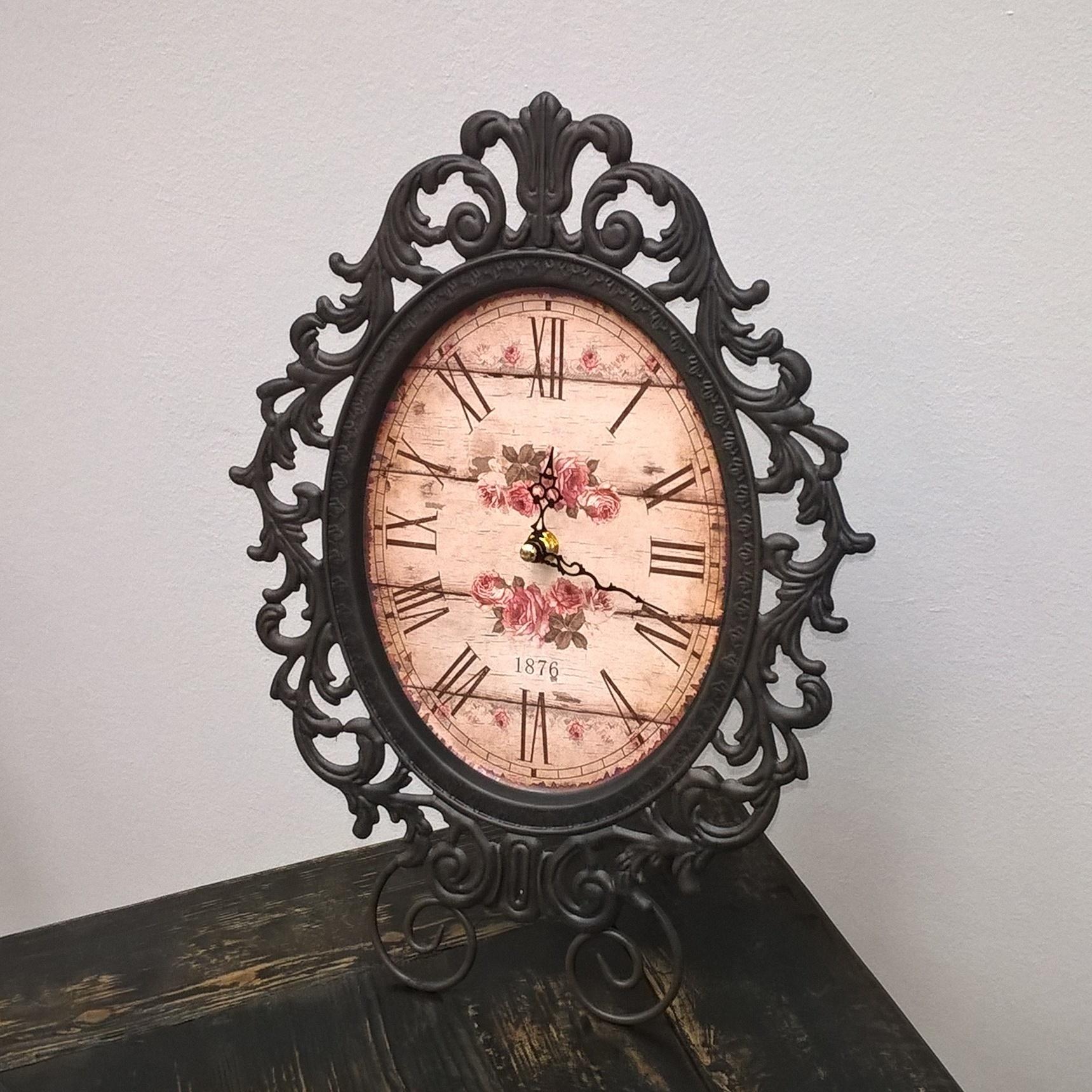 Настольные часы (Подарки для женщин)Подарки для женщин<br>Настольные часы<br>Материал: Металл<br>Производитель: Antic Line, Франция<br>