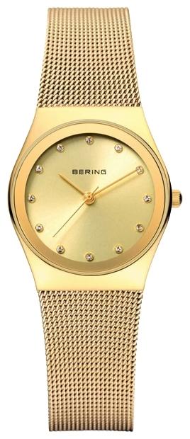 Bering 12927-333 - женские наручные часыBering<br>женские,  сапфировое стекло, корпус из нерж. стали с покрытием pvd золотого цвета, браслет из нерж. стали с покрытием pvd золотого цвета, циферблат золотого цвета с кристаллами swarovski<br><br>Бренд: Bering<br>Модель: Bering 12927-333<br>Артикул: 12927-333<br>Вариант артикула: ber-12927-333<br>Коллекция: None<br>Подколлекция: None<br>Страна: Дания<br>Пол: женские<br>Тип механизма: кварцевые<br>Механизм: None<br>Количество камней: None<br>Автоподзавод: None<br>Источник энергии: от батарейки<br>Срок службы элемента питания: None<br>Дисплей: стрелки<br>Цифры: отсутствуют<br>Водозащита: WR 30<br>Противоударные: None<br>Материал корпуса: нерж. сталь, IP покрытие (полное)<br>Материал браслета: нерж. сталь, IP покрытие (полное)<br>Материал безеля: None<br>Стекло: сапфировое<br>Антибликовое покрытие: None<br>Цвет корпуса: None<br>Цвет браслета: None<br>Цвет циферблата: None<br>Цвет безеля: None<br>Размеры: None<br>Диаметр: None<br>Диаметр корпуса: 27<br>Толщина: None<br>Ширина ремешка: None<br>Вес: None<br>Спорт-функции: None<br>Подсветка: None<br>Вставка: кристаллы Swarovski<br>Отображение даты: None<br>Хронограф: None<br>Таймер: None<br>Термометр: None<br>Хронометр: None<br>GPS: None<br>Радиосинхронизация: None<br>Барометр: None<br>Скелетон: None<br>Дополнительная информация: None<br>Дополнительные функции: None