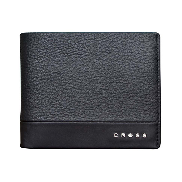 Кошелек Cross Nueva FV, цвет черный, 11 х 8,2 х 0,5 смКошельки<br>Кошелек CrossNueva FV<br><br>Материал:фактурная кожа наппа<br>Цвет:черный<br>Размер: 11 х 8,2х 0,5см<br>Шесть отделений для кредитных карт<br>Одно отделение для документов<br>Карман для монет<br><br>Элегантные и смелые идеи марки Cross прекрасно сочетаются с искусственно помятой натуральной кожей, что воплотилось в создание коллекции в итальянском стиле. Разработанная специально для покупателей, следящих за тенденциями моды и стиля, коллекция Nueva FV завоевала сердца клиентов по всему миру.<br>В коллекцию классических аксессуаров для мужчин из натуральной кожи Nueva FV (Fossil &amp; Valentino) Cross входят портмоне и бумажники, держатели для денег и кредитных карт. Все изделия линии Cross FV соответствуют европейским стандартам и подтверждают безупречное качество аксессуаров Cross. Коллекция FV (Fossil &amp; Valentino) из натуральной кожи черного (Black), коричневого (Cofee) и серого (Stone) цвета – очень приятная для глаз и на ощупь.<br>