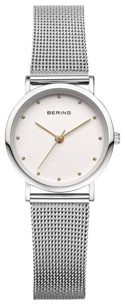 Bering 13426-001 - женские наручные часыBering<br>женские, сапфировое стекло, корпус из нерж. стали,  браслет из нерж. стали, циферблат белого цвета<br><br>Бренд: Bering<br>Модель: Bering 13426-001<br>Артикул: 13426-001<br>Вариант артикула: ber-13426-001<br>Коллекция: None<br>Подколлекция: None<br>Страна: Дания<br>Пол: женские<br>Тип механизма: кварцевые<br>Механизм: None<br>Количество камней: None<br>Автоподзавод: None<br>Источник энергии: от батарейки<br>Срок службы элемента питания: None<br>Дисплей: стрелки<br>Цифры: отсутствуют<br>Водозащита: WR 30<br>Противоударные: None<br>Материал корпуса: нерж. сталь<br>Материал браслета: нерж. сталь<br>Материал безеля: None<br>Стекло: сапфировое<br>Антибликовое покрытие: None<br>Цвет корпуса: None<br>Цвет браслета: None<br>Цвет циферблата: None<br>Цвет безеля: None<br>Размеры: None<br>Диаметр: None<br>Диаметр корпуса: 26<br>Толщина: None<br>Ширина ремешка: None<br>Вес: None<br>Спорт-функции: None<br>Подсветка: None<br>Вставка: None<br>Отображение даты: None<br>Хронограф: None<br>Таймер: None<br>Термометр: None<br>Хронометр: None<br>GPS: None<br>Радиосинхронизация: None<br>Барометр: None<br>Скелетон: None<br>Дополнительная информация: None<br>Дополнительные функции: None