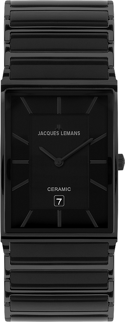 Jacques Lemans 1-1592B - мужские наручные часы из коллекции YorkJacques Lemans<br><br><br>Бренд: Jacques Lemans<br>Модель: Jacques Lemans 1-1592B<br>Артикул: 1-1592B<br>Вариант артикула: None<br>Коллекция: York<br>Подколлекция: None<br>Страна: Австрия<br>Пол: мужские<br>Тип механизма: кварцевые<br>Механизм: None<br>Количество камней: None<br>Автоподзавод: None<br>Источник энергии: от батарейки<br>Срок службы элемента питания: None<br>Дисплей: стрелки<br>Цифры: отсутствуют<br>Водозащита: WR 5<br>Противоударные: None<br>Материал корпуса: нерж. сталь, PVD покрытие<br>Материал браслета: нерж. сталь + керамика, PVD покрытие<br>Материал безеля: None<br>Стекло: минеральное/сапфировое<br>Антибликовое покрытие: None<br>Цвет корпуса: None<br>Цвет браслета: None<br>Цвет циферблата: None<br>Цвет безеля: None<br>Размеры: 32x44 мм<br>Диаметр: None<br>Диаметр корпуса: None<br>Толщина: None<br>Ширина ремешка: None<br>Вес: None<br>Спорт-функции: None<br>Подсветка: None<br>Вставка: None<br>Отображение даты: число<br>Хронограф: None<br>Таймер: None<br>Термометр: None<br>Хронометр: None<br>GPS: None<br>Радиосинхронизация: None<br>Барометр: None<br>Скелетон: None<br>Дополнительная информация: None<br>Дополнительные функции: None