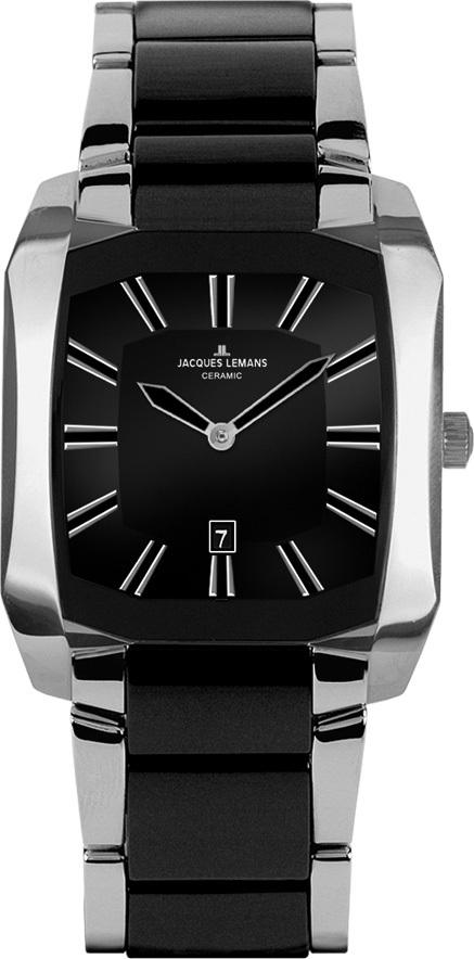 Jacques Lemans 1-1753A - мужские наручные часы из коллекции DublinJacques Lemans<br><br><br>Бренд: Jacques Lemans<br>Модель: Jacques Lemans 1-1753A<br>Артикул: 1-1753A<br>Вариант артикула: None<br>Коллекция: Dublin<br>Подколлекция: None<br>Страна: Австрия<br>Пол: мужские<br>Тип механизма: кварцевые<br>Механизм: None<br>Количество камней: None<br>Автоподзавод: None<br>Источник энергии: от батарейки<br>Срок службы элемента питания: None<br>Дисплей: стрелки<br>Цифры: отсутствуют<br>Водозащита: WR 50<br>Противоударные: None<br>Материал корпуса: нерж. сталь<br>Материал браслета: нерж. сталь + керамика<br>Материал безеля: None<br>Стекло: сапфировое<br>Антибликовое покрытие: None<br>Цвет корпуса: None<br>Цвет браслета: None<br>Цвет циферблата: None<br>Цвет безеля: None<br>Размеры: 34x39 мм<br>Диаметр: None<br>Диаметр корпуса: None<br>Толщина: None<br>Ширина ремешка: None<br>Вес: None<br>Спорт-функции: None<br>Подсветка: None<br>Вставка: None<br>Отображение даты: число<br>Хронограф: None<br>Таймер: None<br>Термометр: None<br>Хронометр: None<br>GPS: None<br>Радиосинхронизация: None<br>Барометр: None<br>Скелетон: None<br>Дополнительная информация: None<br>Дополнительные функции: None