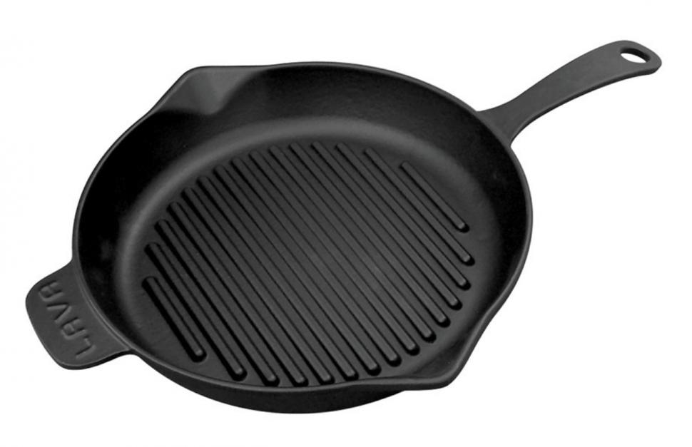 Литая чугунная сковорода-гриль LAVA ECO 28см LVECOYGT28Сковороды<br><br>