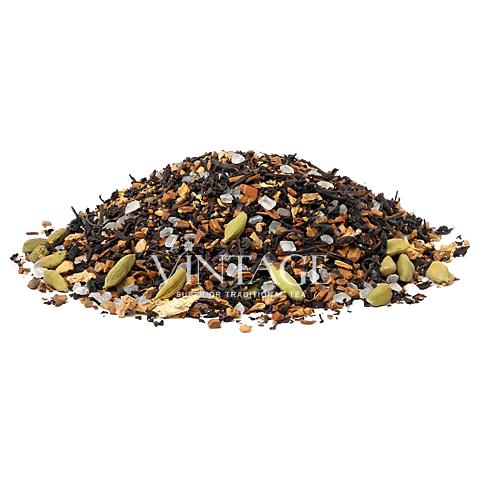 Индийский Спайс (чай черный байховый ароматизированный листовой)Весовой чай<br>Индийский Спайс (чай черный байховый ароматизированный листовой)<br><br><br><br><br><br><br><br><br><br>Время заваривания<br>Температура заваривания<br>Количество заварки<br><br><br><br>Рекомендуемое время заваривания 4-5мин.<br><br><br>Рекомендуемая температура заваривания 90-95 °С<br><br><br>Рекомендуемое количество заварки 3-4гр из расчета на 200-300мл.<br><br><br><br><br><br>Состав:черный чай, корица, кусочки имбиря, черный перец, зерна кардамона, гвоздика, кусочки тростникового белого сахара.<br>Описание:корица снижает содержание в крови жиров и плохого холестерина, и нейтрализует свободные радикалы. Острый пряный вкус со специями позволяет почувствовать себя индийцем и скоротать зимний вечер.<br>