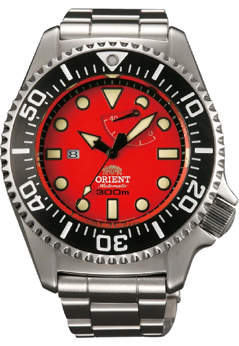 Orient EL02003H / SEL02003H0 - мужские наручные часы из коллекции Pro SaturationORIENT<br><br><br>Бренд: ORIENT<br>Модель: ORIENT EL02003H<br>Артикул: EL02003H<br>Вариант артикула: SEL02003H0<br>Коллекция: Pro Saturation<br>Подколлекция: None<br>Страна: Япония<br>Пол: мужские<br>Тип механизма: механические<br>Механизм: ORIENT 40N5A<br>Количество камней: 22<br>Автоподзавод: есть<br>Источник энергии: пружинный механизм<br>Срок службы элемента питания: None<br>Дисплей: стрелки<br>Цифры: отсутствуют<br>Водозащита: WR 300<br>Противоударные: None<br>Материал корпуса: нерж. сталь<br>Материал браслета: нерж. сталь<br>Материал безеля: None<br>Стекло: сапфировое<br>Антибликовое покрытие: есть<br>Цвет корпуса: None<br>Цвет браслета: None<br>Цвет циферблата: None<br>Цвет безеля: None<br>Размеры: 45.4x16.6 мм<br>Диаметр: None<br>Диаметр корпуса: None<br>Толщина: None<br>Ширина ремешка: None<br>Вес: 231 г<br>Спорт-функции: None<br>Подсветка: стрелок<br>Вставка: None<br>Отображение даты: число<br>Хронограф: None<br>Таймер: None<br>Термометр: None<br>Хронометр: None<br>GPS: None<br>Радиосинхронизация: None<br>Барометр: None<br>Скелетон: None<br>Дополнительная информация: возможность ручного завода, запас хода 40 часов, в комплекте запасной ремешок и инструмент для смены браслета<br>Дополнительные функции: индикатор запаса хода