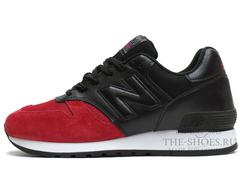Кроссовки Мужские New Balance 670 Red Black