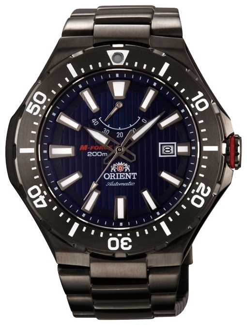Orient EL07001D / SEL07001D0 - мужские наручные часыORIENT<br><br><br>Бренд: ORIENT<br>Модель: ORIENT EL07001D<br>Артикул: EL07001D<br>Вариант артикула: SEL07001D0<br>Коллекция: None<br>Подколлекция: None<br>Страна: Япония<br>Пол: мужские<br>Тип механизма: механические<br>Механизм: ORIENT 40N5A<br>Количество камней: None<br>Автоподзавод: есть<br>Источник энергии: пружинный механизм<br>Срок службы элемента питания: None<br>Дисплей: стрелки<br>Цифры: отсутствуют<br>Водозащита: WR 200<br>Противоударные: None<br>Материал корпуса: нерж. сталь, полное покрытие корпуса<br>Материал браслета: нерж. сталь, полное дополнительное покрытие<br>Материал безеля: None<br>Стекло: сапфировое<br>Антибликовое покрытие: None<br>Цвет корпуса: None<br>Цвет браслета: None<br>Цвет циферблата: None<br>Цвет безеля: None<br>Размеры: 49.1x13.6 мм<br>Диаметр: None<br>Диаметр корпуса: None<br>Толщина: None<br>Ширина ремешка: None<br>Вес: None<br>Спорт-функции: None<br>Подсветка: стрелок<br>Вставка: None<br>Отображение даты: число<br>Хронограф: None<br>Таймер: None<br>Термометр: None<br>Хронометр: None<br>GPS: None<br>Радиосинхронизация: None<br>Барометр: None<br>Скелетон: None<br>Дополнительная информация: возможность ручного подзавода<br>Дополнительные функции: индикатор запаса хода