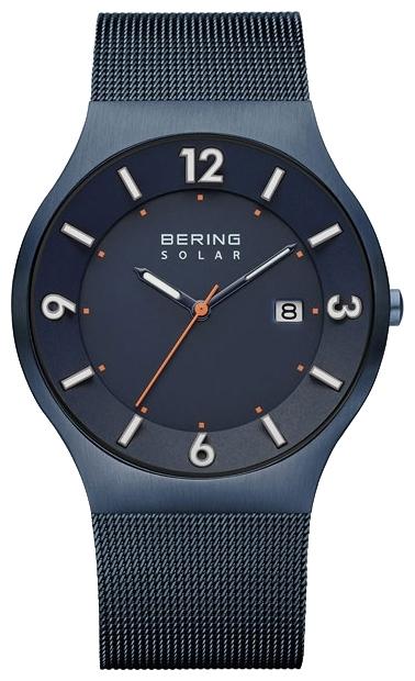 Bering 14440-393 - мужские наручные часыBering<br>solar ,мужские, солнечная батарея, сапфировое стекло, корпус из стали ,  браслет из стали с покрытием pvd синего цвета , циферблат синего цвета, секундная стрелка , с числовым календарем<br><br>Бренд: Bering<br>Модель: Bering 14440-393<br>Артикул: 14440-393<br>Вариант артикула: ber-14440-393<br>Коллекция: None<br>Подколлекция: None<br>Страна: Дания<br>Пол: мужские<br>Тип механизма: кварцевые<br>Механизм: None<br>Количество камней: None<br>Автоподзавод: None<br>Источник энергии: от солнечной батареи<br>Срок службы элемента питания: None<br>Дисплей: стрелки<br>Цифры: арабские<br>Водозащита: WR 30<br>Противоударные: None<br>Материал корпуса: нерж. сталь, IP покрытие (полное)<br>Материал браслета: нерж. сталь, IP покрытие (полное)<br>Материал безеля: None<br>Стекло: сапфировое<br>Антибликовое покрытие: None<br>Цвет корпуса: None<br>Цвет браслета: None<br>Цвет циферблата: None<br>Цвет безеля: None<br>Размеры: None<br>Диаметр: None<br>Диаметр корпуса: 40<br>Толщина: None<br>Ширина ремешка: None<br>Вес: None<br>Спорт-функции: None<br>Подсветка: стрелок<br>Вставка: None<br>Отображение даты: число<br>Хронограф: None<br>Таймер: None<br>Термометр: None<br>Хронометр: None<br>GPS: None<br>Радиосинхронизация: None<br>Барометр: None<br>Скелетон: None<br>Дополнительная информация: None<br>Дополнительные функции: None
