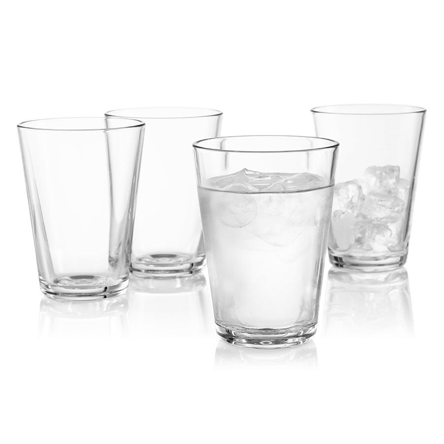 Стаканы 4 шт 380 мл Eva Solo 567438Бокалы и стаканы<br>Набор из 4х стаканов для холодных и горячих до 130С напитков из выдувного стекла. В этих стаканах отлично смотрится каппучино.<br>