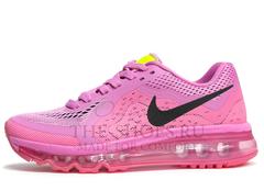 Кроссовки Женские Nike Air Max 2014 Pink Black