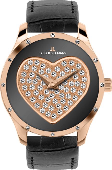 Jacques Lemans 1-1803C - женские наручные часы из коллекции La PassionJacques Lemans<br><br><br>Бренд: Jacques Lemans<br>Модель: Jacques Lemans 1-1803C<br>Артикул: 1-1803C<br>Вариант артикула: None<br>Коллекция: La Passion<br>Подколлекция: None<br>Страна: Австрия<br>Пол: женские<br>Тип механизма: кварцевые<br>Механизм: None<br>Количество камней: None<br>Автоподзавод: None<br>Источник энергии: от батарейки<br>Срок службы элемента питания: None<br>Дисплей: стрелки<br>Цифры: отсутствуют<br>Водозащита: WR 5<br>Противоударные: None<br>Материал корпуса: нерж. сталь, IP покрытие (полное)<br>Материал браслета: кожа<br>Материал безеля: None<br>Стекло: Crystex<br>Антибликовое покрытие: None<br>Цвет корпуса: None<br>Цвет браслета: None<br>Цвет циферблата: None<br>Цвет безеля: None<br>Размеры: 32 мм<br>Диаметр: None<br>Диаметр корпуса: None<br>Толщина: None<br>Ширина ремешка: None<br>Вес: None<br>Спорт-функции: None<br>Подсветка: None<br>Вставка: кристаллы Swarovski<br>Отображение даты: None<br>Хронограф: None<br>Таймер: None<br>Термометр: None<br>Хронометр: None<br>GPS: None<br>Радиосинхронизация: None<br>Барометр: None<br>Скелетон: None<br>Дополнительная информация: None<br>Дополнительные функции: None