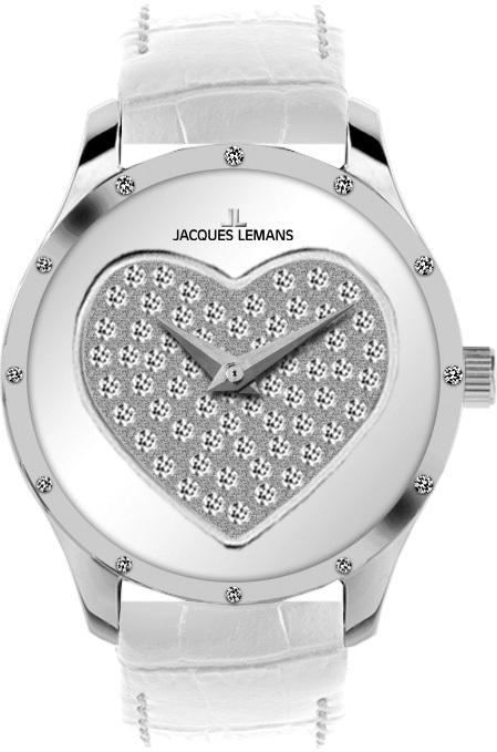 Jacques Lemans 1-1803B - женские наручные часы из коллекции La PassionJacques Lemans<br><br><br>Бренд: Jacques Lemans<br>Модель: Jacques Lemans 1-1803B<br>Артикул: 1-1803B<br>Вариант артикула: None<br>Коллекция: La Passion<br>Подколлекция: None<br>Страна: Австрия<br>Пол: женские<br>Тип механизма: кварцевые<br>Механизм: None<br>Количество камней: None<br>Автоподзавод: None<br>Источник энергии: от батарейки<br>Срок службы элемента питания: None<br>Дисплей: стрелки<br>Цифры: отсутствуют<br>Водозащита: WR 50<br>Противоударные: None<br>Материал корпуса: нерж. сталь<br>Материал браслета: кожа<br>Материал безеля: None<br>Стекло: минеральное<br>Антибликовое покрытие: None<br>Цвет корпуса: None<br>Цвет браслета: None<br>Цвет циферблата: None<br>Цвет безеля: None<br>Размеры: 32 мм<br>Диаметр: None<br>Диаметр корпуса: None<br>Толщина: None<br>Ширина ремешка: None<br>Вес: None<br>Спорт-функции: None<br>Подсветка: None<br>Вставка: кристаллы Swarovski<br>Отображение даты: None<br>Хронограф: None<br>Таймер: None<br>Термометр: None<br>Хронометр: None<br>GPS: None<br>Радиосинхронизация: None<br>Барометр: None<br>Скелетон: None<br>Дополнительная информация: None<br>Дополнительные функции: None