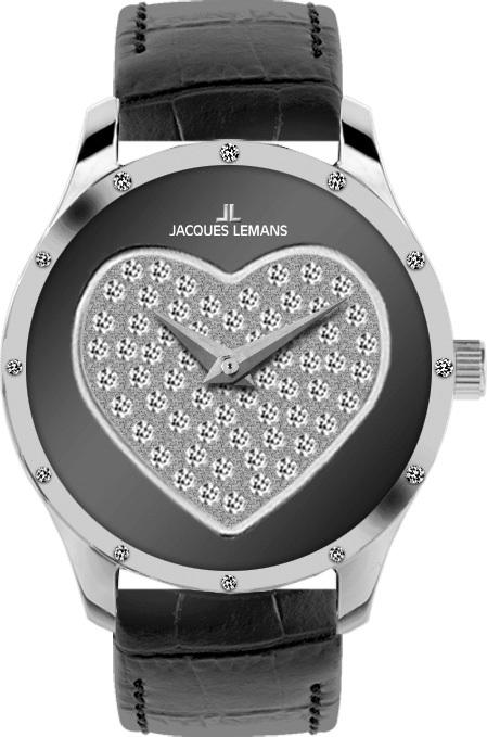 Jacques Lemans 1-1803A - женские наручные часы из коллекции La PassionJacques Lemans<br><br><br>Бренд: Jacques Lemans<br>Модель: Jacques Lemans 1-1803A<br>Артикул: 1-1803A<br>Вариант артикула: None<br>Коллекция: La Passion<br>Подколлекция: None<br>Страна: Австрия<br>Пол: женские<br>Тип механизма: кварцевые<br>Механизм: None<br>Количество камней: None<br>Автоподзавод: None<br>Источник энергии: от батарейки<br>Срок службы элемента питания: None<br>Дисплей: стрелки<br>Цифры: отсутствуют<br>Водозащита: WR 50<br>Противоударные: None<br>Материал корпуса: нерж. сталь<br>Материал браслета: кожа<br>Материал безеля: None<br>Стекло: минеральное<br>Антибликовое покрытие: None<br>Цвет корпуса: None<br>Цвет браслета: None<br>Цвет циферблата: None<br>Цвет безеля: None<br>Размеры: 32 мм<br>Диаметр: None<br>Диаметр корпуса: None<br>Толщина: None<br>Ширина ремешка: None<br>Вес: None<br>Спорт-функции: None<br>Подсветка: None<br>Вставка: кристаллы Swarovski<br>Отображение даты: None<br>Хронограф: None<br>Таймер: None<br>Термометр: None<br>Хронометр: None<br>GPS: None<br>Радиосинхронизация: None<br>Барометр: None<br>Скелетон: None<br>Дополнительная информация: None<br>Дополнительные функции: None