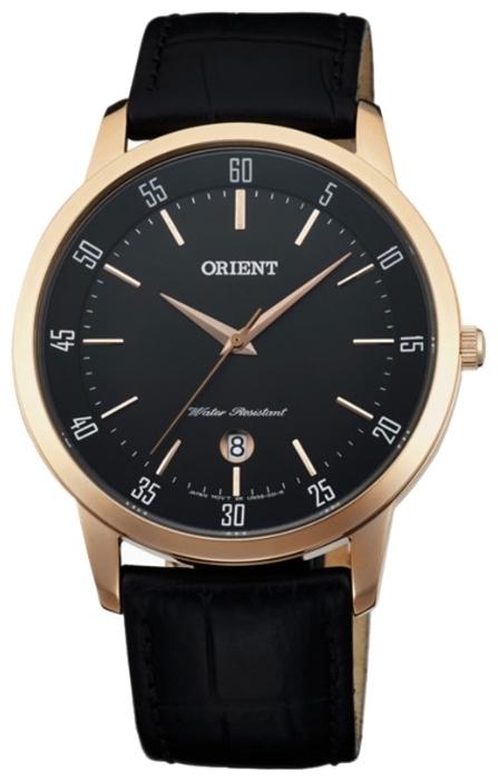Orient UNG5001B / FUNG5001B0 - мужские наручные часыORIENT<br><br><br>Бренд: ORIENT<br>Модель: ORIENT UNG5001B<br>Артикул: UNG5001B<br>Вариант артикула: FUNG5001B0<br>Коллекция: None<br>Подколлекция: None<br>Страна: Япония<br>Пол: мужские<br>Тип механизма: кварцевые<br>Механизм: HT7<br>Количество камней: None<br>Автоподзавод: None<br>Источник энергии: от батарейки<br>Срок службы элемента питания: None<br>Дисплей: стрелки<br>Цифры: отсутствуют<br>Водозащита: WR 30<br>Противоударные: None<br>Материал корпуса: нерж. сталь, IP покрытие: позолота (полное)<br>Материал браслета: кожа (не указан)<br>Материал безеля: None<br>Стекло: минеральное<br>Антибликовое покрытие: None<br>Цвет корпуса: None<br>Цвет браслета: None<br>Цвет циферблата: None<br>Цвет безеля: None<br>Размеры: 39 мм<br>Диаметр: None<br>Диаметр корпуса: None<br>Толщина: None<br>Ширина ремешка: None<br>Вес: None<br>Спорт-функции: None<br>Подсветка: None<br>Вставка: None<br>Отображение даты: число<br>Хронограф: None<br>Таймер: None<br>Термометр: None<br>Хронометр: None<br>GPS: None<br>Радиосинхронизация: None<br>Барометр: None<br>Скелетон: None<br>Дополнительная информация: None<br>Дополнительные функции: None