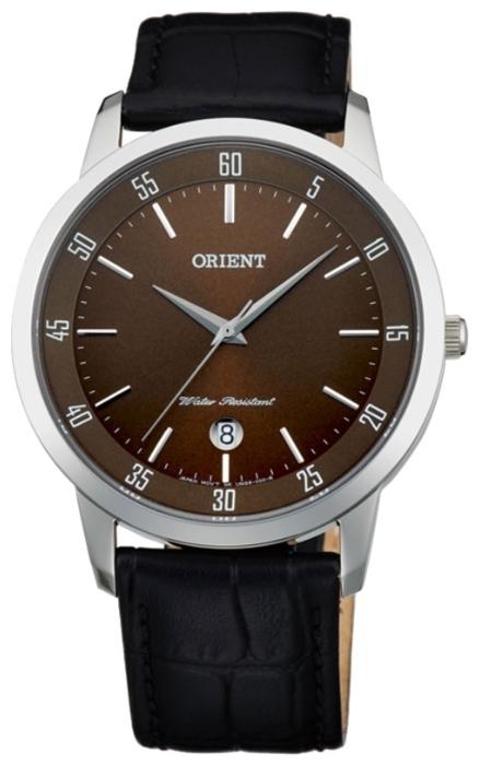 Orient UNG5003T / FUNG5003T0 - мужские наручные часыORIENT<br><br><br>Бренд: ORIENT<br>Модель: ORIENT UNG5003T<br>Артикул: UNG5003T<br>Вариант артикула: FUNG5003T0<br>Коллекция: None<br>Подколлекция: None<br>Страна: Япония<br>Пол: мужские<br>Тип механизма: кварцевые<br>Механизм: HT7<br>Количество камней: None<br>Автоподзавод: None<br>Источник энергии: от батарейки<br>Срок службы элемента питания: None<br>Дисплей: стрелки<br>Цифры: отсутствуют<br>Водозащита: WR 30<br>Противоударные: None<br>Материал корпуса: нерж. сталь<br>Материал браслета: кожа (не указан)<br>Материал безеля: None<br>Стекло: минеральное<br>Антибликовое покрытие: None<br>Цвет корпуса: None<br>Цвет браслета: None<br>Цвет циферблата: None<br>Цвет безеля: None<br>Размеры: 42 мм<br>Диаметр: None<br>Диаметр корпуса: None<br>Толщина: None<br>Ширина ремешка: None<br>Вес: None<br>Спорт-функции: None<br>Подсветка: None<br>Вставка: None<br>Отображение даты: число<br>Хронограф: None<br>Таймер: None<br>Термометр: None<br>Хронометр: None<br>GPS: None<br>Радиосинхронизация: None<br>Барометр: None<br>Скелетон: None<br>Дополнительная информация: None<br>Дополнительные функции: None