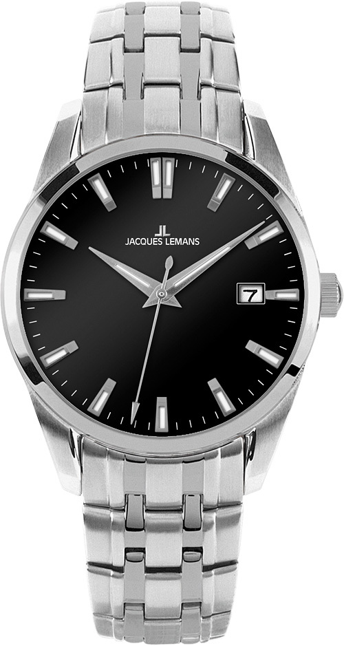 Jacques Lemans 1-1769H - мужские наручные часы из коллекции LiverpoolJacques Lemans<br><br><br>Бренд: Jacques Lemans<br>Модель: Jacques Lemans 1-1769H<br>Артикул: 1-1769H<br>Вариант артикула: None<br>Коллекция: Liverpool<br>Подколлекция: None<br>Страна: Австрия<br>Пол: мужские<br>Тип механизма: кварцевые<br>Механизм: None<br>Количество камней: None<br>Автоподзавод: None<br>Источник энергии: от батарейки<br>Срок службы элемента питания: None<br>Дисплей: стрелки<br>Цифры: отсутствуют<br>Водозащита: WR 10<br>Противоударные: None<br>Материал корпуса: нерж. сталь<br>Материал браслета: нерж. сталь<br>Материал безеля: None<br>Стекло: Crystex<br>Антибликовое покрытие: None<br>Цвет корпуса: None<br>Цвет браслета: None<br>Цвет циферблата: None<br>Цвет безеля: None<br>Размеры: 39 мм<br>Диаметр: None<br>Диаметр корпуса: None<br>Толщина: None<br>Ширина ремешка: None<br>Вес: None<br>Спорт-функции: None<br>Подсветка: стрелок<br>Вставка: None<br>Отображение даты: число<br>Хронограф: None<br>Таймер: None<br>Термометр: None<br>Хронометр: None<br>GPS: None<br>Радиосинхронизация: None<br>Барометр: None<br>Скелетон: None<br>Дополнительная информация: None<br>Дополнительные функции: None