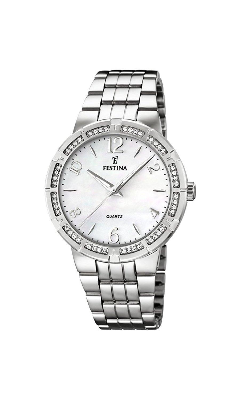 Festina F16703.1 - женские наручные часы из коллекции ClassicFestina<br><br><br>Бренд: Festina<br>Модель: Festina F16703/1<br>Артикул: F16703.1<br>Вариант артикула: None<br>Коллекция: Classic<br>Подколлекция: None<br>Страна: Испания<br>Пол: женские<br>Тип механизма: кварцевые<br>Механизм: M2035<br>Количество камней: None<br>Автоподзавод: None<br>Источник энергии: от батарейки<br>Срок службы элемента питания: None<br>Дисплей: стрелки<br>Цифры: арабские<br>Водозащита: WR 50<br>Противоударные: None<br>Материал корпуса: нерж. сталь<br>Материал браслета: нерж. сталь<br>Материал безеля: None<br>Стекло: минеральное<br>Антибликовое покрытие: None<br>Цвет корпуса: None<br>Цвет браслета: None<br>Цвет циферблата: None<br>Цвет безеля: None<br>Размеры: 36 мм<br>Диаметр: None<br>Диаметр корпуса: None<br>Толщина: None<br>Ширина ремешка: None<br>Вес: None<br>Спорт-функции: None<br>Подсветка: стрелок<br>Вставка: None<br>Отображение даты: None<br>Хронограф: None<br>Таймер: None<br>Термометр: None<br>Хронометр: None<br>GPS: None<br>Радиосинхронизация: None<br>Барометр: None<br>Скелетон: None<br>Дополнительная информация: None<br>Дополнительные функции: None
