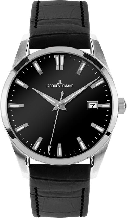 Jacques Lemans 1-1769C - мужские наручные часы из коллекции LiverpoolJacques Lemans<br><br><br>Бренд: Jacques Lemans<br>Модель: Jacques Lemans 1-1769C<br>Артикул: 1-1769C<br>Вариант артикула: None<br>Коллекция: Liverpool<br>Подколлекция: None<br>Страна: Австрия<br>Пол: мужские<br>Тип механизма: кварцевые<br>Механизм: None<br>Количество камней: None<br>Автоподзавод: None<br>Источник энергии: от батарейки<br>Срок службы элемента питания: None<br>Дисплей: стрелки<br>Цифры: отсутствуют<br>Водозащита: WR 10<br>Противоударные: None<br>Материал корпуса: нерж. сталь<br>Материал браслета: кожа<br>Материал безеля: None<br>Стекло: Crystex<br>Антибликовое покрытие: None<br>Цвет корпуса: None<br>Цвет браслета: None<br>Цвет циферблата: None<br>Цвет безеля: None<br>Размеры: 39 мм<br>Диаметр: None<br>Диаметр корпуса: None<br>Толщина: None<br>Ширина ремешка: None<br>Вес: None<br>Спорт-функции: None<br>Подсветка: стрелок<br>Вставка: None<br>Отображение даты: число<br>Хронограф: None<br>Таймер: None<br>Термометр: None<br>Хронометр: None<br>GPS: None<br>Радиосинхронизация: None<br>Барометр: None<br>Скелетон: None<br>Дополнительная информация: None<br>Дополнительные функции: None