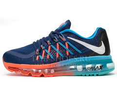 Кроссовки Женские Nike Air Max 2015 Double Blue Coral