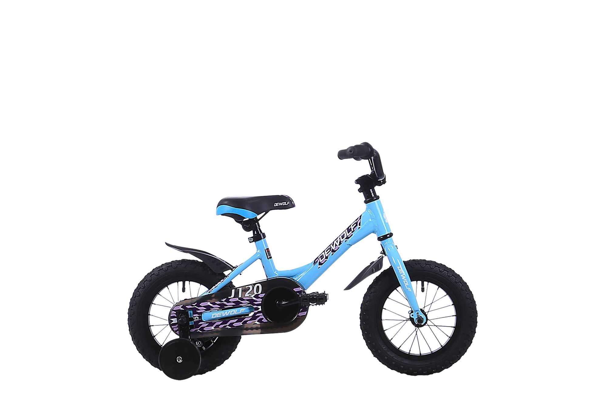 Dewolf J120 Girl (2016)от 3 лет<br>Любовь к велосипеду с первых лет жизни. Кто знает, может яркий и стильный J120 станет первым велосипедом будущего чемпиона.<br>Легкая, прочная алюминиевая рама, колеса 12, тренировочные колеса в комплекте, надежная и безопасная конструкция.<br><br><br>Алюминиевые обода - ни грамма лишнего веса<br>Легкая и прочная алюминиевая рама<br>Простой и понятный ножной тормоз.<br>Простая в использовании трансмиссия<br>Всего одна передача - чем проще, тем лучше!<br>Прочная и надежная стальная вилка - прослужит очень долго<br>