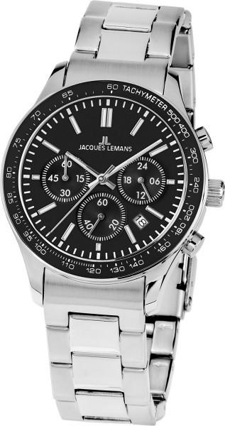 Jacques Lemans 1-1586ZG - унисекс наручные часы из коллекции Rome SportsJacques Lemans<br><br><br>Бренд: Jacques Lemans<br>Модель: Jacques Lemans 1-1586ZG<br>Артикул: 1-1586ZG<br>Вариант артикула: None<br>Коллекция: Rome Sports<br>Подколлекция: None<br>Страна: Австрия<br>Пол: унисекс<br>Тип механизма: кварцевые<br>Механизм: None<br>Количество камней: None<br>Автоподзавод: None<br>Источник энергии: от батарейки<br>Срок службы элемента питания: None<br>Дисплей: стрелки<br>Цифры: отсутствуют<br>Водозащита: WR 100<br>Противоударные: None<br>Материал корпуса: нерж. сталь<br>Материал браслета: нерж. сталь<br>Материал безеля: None<br>Стекло: минеральное<br>Антибликовое покрытие: None<br>Цвет корпуса: None<br>Цвет браслета: None<br>Цвет циферблата: None<br>Цвет безеля: None<br>Размеры: 44 мм<br>Диаметр: None<br>Диаметр корпуса: None<br>Толщина: None<br>Ширина ремешка: None<br>Вес: None<br>Спорт-функции: секундомер<br>Подсветка: стрелок<br>Вставка: None<br>Отображение даты: число<br>Хронограф: есть<br>Таймер: None<br>Термометр: None<br>Хронометр: None<br>GPS: None<br>Радиосинхронизация: None<br>Барометр: None<br>Скелетон: None<br>Дополнительная информация: None<br>Дополнительные функции: None