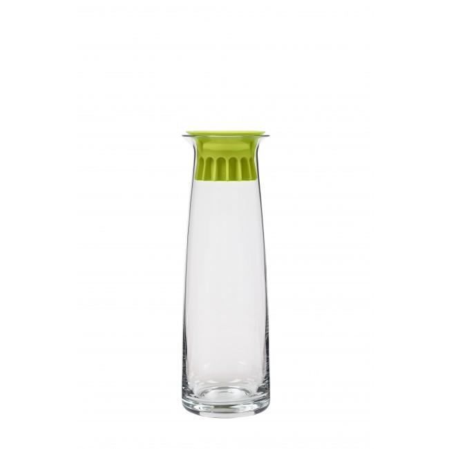 Графин 1л ZONE GOURMET CONFETTI 322021Скидки на товары для кухни<br>Стеклянный графин с плотной силиконовой пробкой, которая не позволит попасть внутрь ни посторонним запахам, ни пыли, ни насекомым. Небольшой объем - отличный повод регулярно наливать свежую воду для поддержания водного баланса.<br>