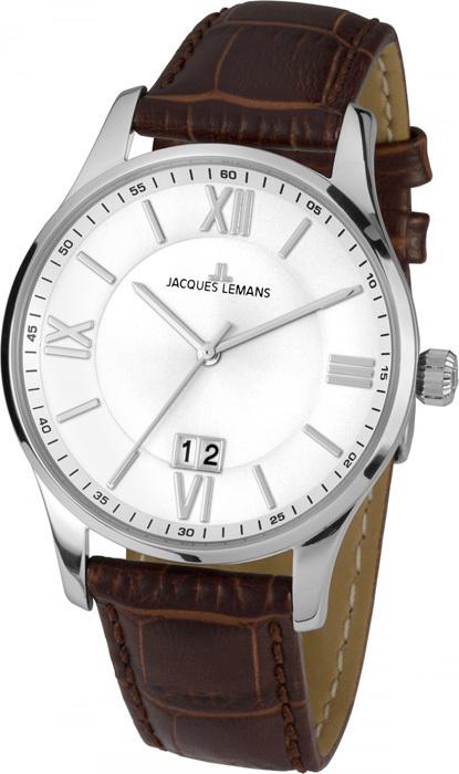 Jacques Lemans 1-1845B - мужские наручные часы из коллекции LondonJacques Lemans<br><br><br>Бренд: Jacques Lemans<br>Модель: Jacques Lemans 1-1845B<br>Артикул: 1-1845B<br>Вариант артикула: None<br>Коллекция: London<br>Подколлекция: None<br>Страна: Австрия<br>Пол: мужские<br>Тип механизма: кварцевые<br>Механизм: None<br>Количество камней: None<br>Автоподзавод: None<br>Источник энергии: от батарейки<br>Срок службы элемента питания: None<br>Дисплей: стрелки<br>Цифры: римские<br>Водозащита: WR 10<br>Противоударные: None<br>Материал корпуса: нерж. сталь<br>Материал браслета: кожа<br>Материал безеля: None<br>Стекло: Crystex<br>Антибликовое покрытие: None<br>Цвет корпуса: None<br>Цвет браслета: None<br>Цвет циферблата: None<br>Цвет безеля: None<br>Размеры: 40 мм<br>Диаметр: None<br>Диаметр корпуса: None<br>Толщина: None<br>Ширина ремешка: None<br>Вес: None<br>Спорт-функции: None<br>Подсветка: None<br>Вставка: None<br>Отображение даты: число<br>Хронограф: None<br>Таймер: None<br>Термометр: None<br>Хронометр: None<br>GPS: None<br>Радиосинхронизация: None<br>Барометр: None<br>Скелетон: None<br>Дополнительная информация: None<br>Дополнительные функции: None