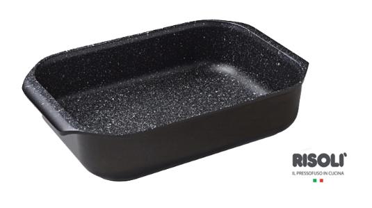 Противень литой Risoli Granit 40см 00102RGR/40HФормы для запекания (выпечки)<br><br>