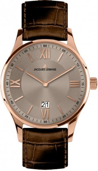 Jacques Lemans 1-1845F - мужские наручные часы из коллекции LondonJacques Lemans<br><br><br>Бренд: Jacques Lemans<br>Модель: Jacques Lemans 1-1845F<br>Артикул: 1-1845F<br>Вариант артикула: None<br>Коллекция: London<br>Подколлекция: None<br>Страна: Австрия<br>Пол: мужские<br>Тип механизма: кварцевые<br>Механизм: None<br>Количество камней: None<br>Автоподзавод: None<br>Источник энергии: от батарейки<br>Срок службы элемента питания: None<br>Дисплей: стрелки<br>Цифры: римские<br>Водозащита: WR 100<br>Противоударные: None<br>Материал корпуса: нерж. сталь, IP покрытие (полное)<br>Материал браслета: кожа<br>Материал безеля: None<br>Стекло: минеральное<br>Антибликовое покрытие: None<br>Цвет корпуса: None<br>Цвет браслета: None<br>Цвет циферблата: None<br>Цвет безеля: None<br>Размеры: 40 мм<br>Диаметр: None<br>Диаметр корпуса: None<br>Толщина: None<br>Ширина ремешка: None<br>Вес: None<br>Спорт-функции: None<br>Подсветка: None<br>Вставка: None<br>Отображение даты: число<br>Хронограф: None<br>Таймер: None<br>Термометр: None<br>Хронометр: None<br>GPS: None<br>Радиосинхронизация: None<br>Барометр: None<br>Скелетон: None<br>Дополнительная информация: None<br>Дополнительные функции: None