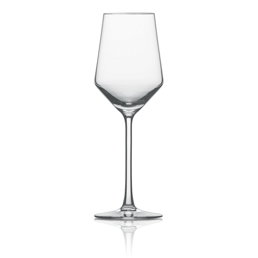 Набор из 6 бокалов для белого вина 300 мл SCHOTT ZWIESEL Pure арт. 112 414-6Бокалы и стаканы<br>Набор из 6 бокалов для белого вина 300 мл SCHOTT ZWIESEL Pure арт. 112 414-7<br><br>вид упаковки: подарочнаявысота (см): 22.0диаметр (см): 7.6материал: хрустальное стеклоназначение: для белого винаобъем (мл): 300предметов в наборе (штук): 6страна: Германия<br>Коллекция Pure с оригинальным дизайном чаши, напоминающей королевский кубок — прекрасная идея для сервировки праздничного стола. Наборы рюмок, винных бокалов, стаканов для воды и виски, а также фужеров для шампанского, выполненные в едином стиле, придадут столу торжественность и величие.<br>Геометрия линий придает изделиям особую привлекательность и позволяет напиткам «дышать», постепенно раскрывая букет вкуса и аромата.<br>Интересная форма сужающихся к верху бокалов с четкими геометрическими линиями не только придает изделиям особую привлекательность, но и позволяет напиткам «дышать», постепенно раскрывая букет вкуса и аромата.<br>Серия Pure, изготовленная из хрустального стекла, привлекает внимание безупречной прозрачностью и уникальным блеском. Изделия этой серии не только восхищают великолепными формами, но и радуют своих хозяев прочностью и долговечностью.<br>