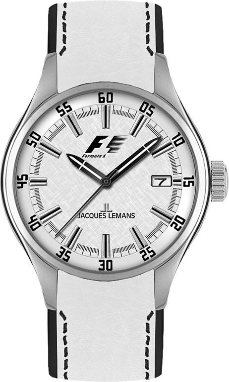 Jacques Lemans F-5037B - женские наручные часы из коллекции Formula 1Jacques Lemans<br><br><br>Бренд: Jacques Lemans<br>Модель: Jacques Lemans F-5037B<br>Артикул: F-5037B<br>Вариант артикула: None<br>Коллекция: Formula 1<br>Подколлекция: None<br>Страна: Австрия<br>Пол: женские<br>Тип механизма: кварцевые<br>Механизм: None<br>Количество камней: None<br>Автоподзавод: None<br>Источник энергии: от батарейки<br>Срок службы элемента питания: None<br>Дисплей: стрелки<br>Цифры: отсутствуют<br>Водозащита: WR 100<br>Противоударные: None<br>Материал корпуса: нерж. сталь<br>Материал браслета: кожа<br>Материал безеля: None<br>Стекло: минеральное<br>Антибликовое покрытие: None<br>Цвет корпуса: None<br>Цвет браслета: None<br>Цвет циферблата: None<br>Цвет безеля: None<br>Размеры: 36 мм<br>Диаметр: None<br>Диаметр корпуса: None<br>Толщина: None<br>Ширина ремешка: None<br>Вес: None<br>Спорт-функции: None<br>Подсветка: стрелок<br>Вставка: None<br>Отображение даты: число<br>Хронограф: None<br>Таймер: None<br>Термометр: None<br>Хронометр: None<br>GPS: None<br>Радиосинхронизация: None<br>Барометр: None<br>Скелетон: None<br>Дополнительная информация: None<br>Дополнительные функции: None