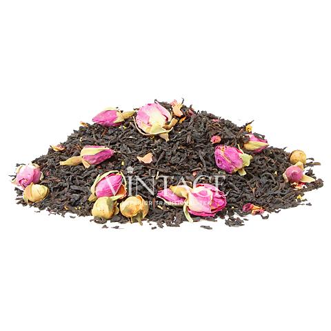 Парамарибо (чай черный байховый ароматизированный листовой)Весовой чай<br>Парамарибо (чай черный байховый ароматизированный листовой)<br><br><br><br><br><br><br><br><br><br>Время заваривания<br>Температура заваривания<br>Количество заварки<br><br><br><br>Рекомендуемое время заваривания 3-4мин.<br><br><br>Рекомендуемая температура заваривания 90-95 °С<br><br><br>Рекомендуемое количество заварки 3-4гр из расчета на 200-300мл.<br><br><br><br><br><br>Состав:черный индийский (Ассам) чай, цветы камелии и османтуса, бутоны роз.<br>Описание:цветы османтуса - это сосудорасширяющее средство, содержит высокий процент эфирных масел. Вкус напитка пряный и напоминает сандал.<br>