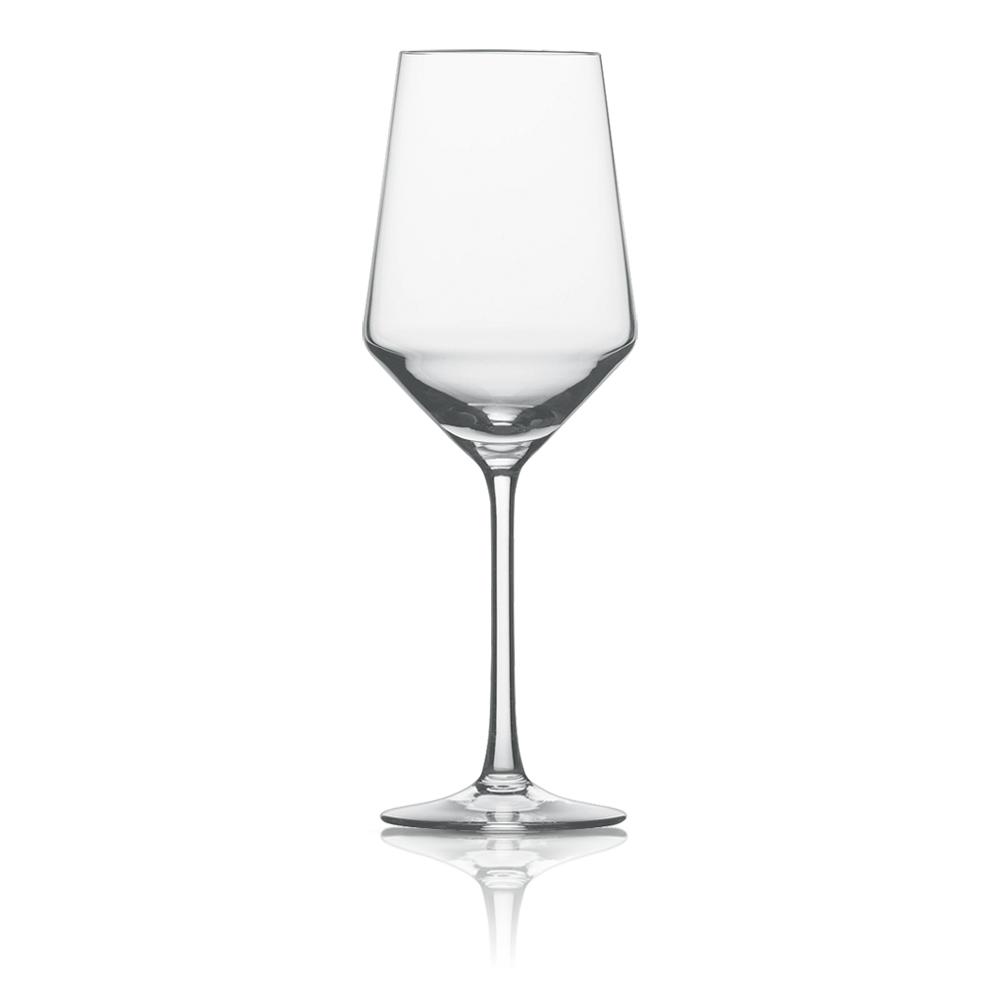 Набор из 6 бокалов для белого вина 408 мл SCHOTT ZWIESEL Pure арт. 112 412-6Бокалы и стаканы<br>Набор из 6 бокалов для белого вина 408 мл SCHOTT ZWIESEL Pure арт. 112 412-7<br><br>вид упаковки: подарочнаявысота (см): 23.2диаметр (см): 8.4материал: хрустальное стеклоназначение: для белого винаобъем (мл): 408предметов в наборе (штук): 6страна: Германия<br>Коллекция Pure с оригинальным дизайном чаши, напоминающей королевский кубок — прекрасная идея для сервировки праздничного стола. Наборы рюмок, винных бокалов, стаканов для воды и виски, а также фужеров для шампанского, выполненные в едином стиле, придадут столу торжественность и величие.<br>Геометрия линий придает изделиям особую привлекательность и позволяет напиткам «дышать», постепенно раскрывая букет вкуса и аромата.<br>Интересная форма сужающихся к верху бокалов с четкими геометрическими линиями не только придает изделиям особую привлекательность, но и позволяет напиткам «дышать», постепенно раскрывая букет вкуса и аромата.<br>Серия Pure, изготовленная из хрустального стекла, привлекает внимание безупречной прозрачностью и уникальным блеском. Изделия этой серии не только восхищают великолепными формами, но и радуют своих хозяев прочностью и долговечностью.<br>