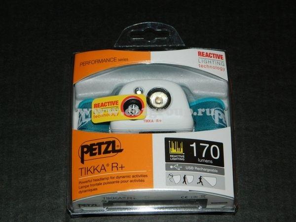 светодиодный фонарь Petzl TIKKA R+ светло-синий отзывы